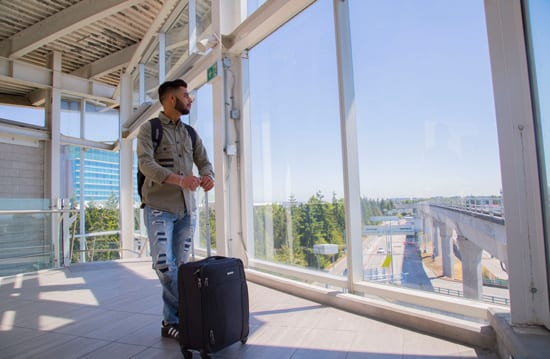 Student Arriving in Canada