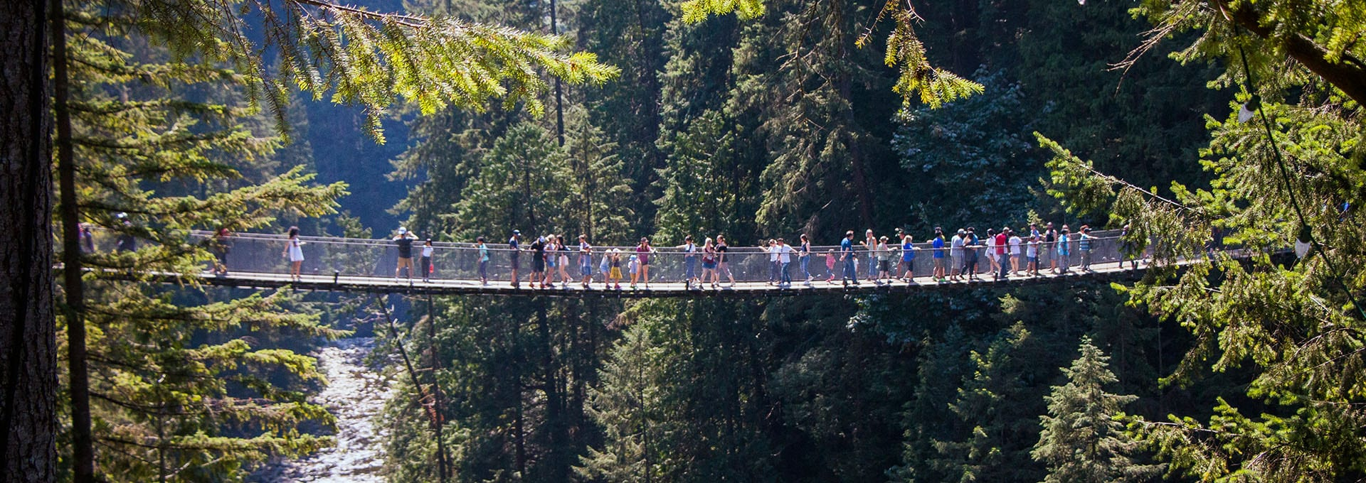 Students at Capilano Park, Alexander College