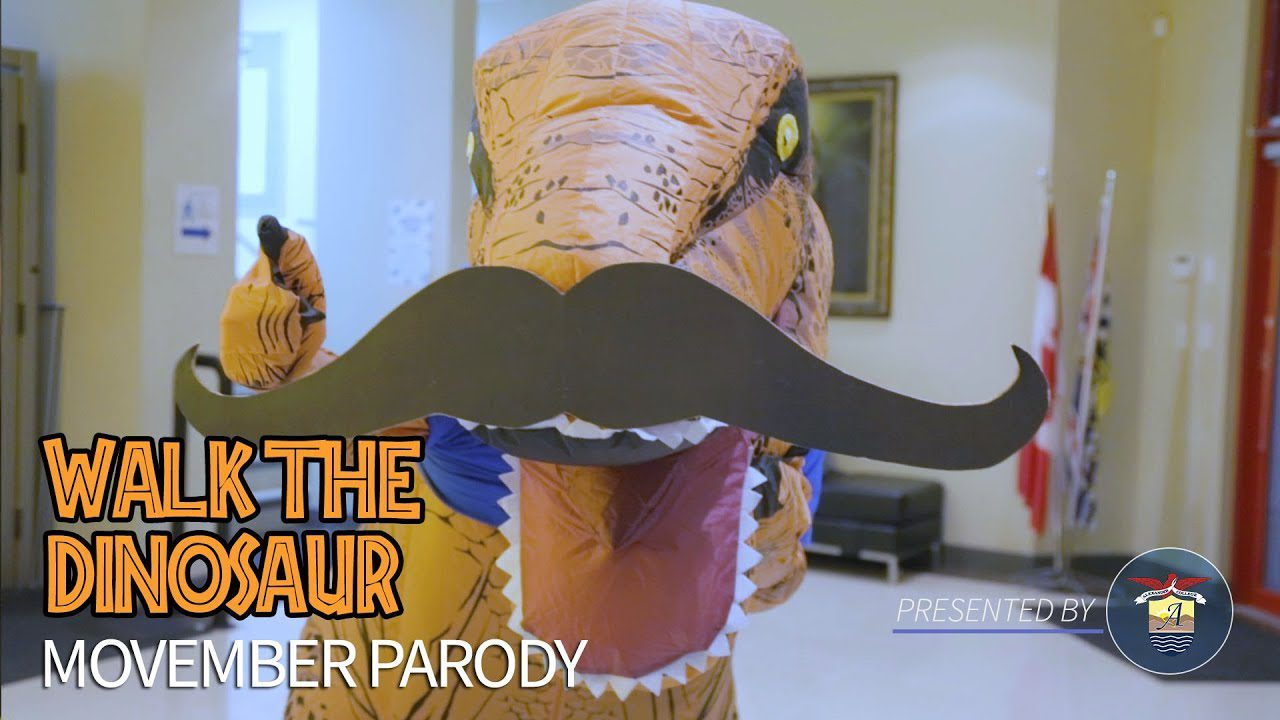 Movember | Walk The Dinosaur Parody, Alexander College