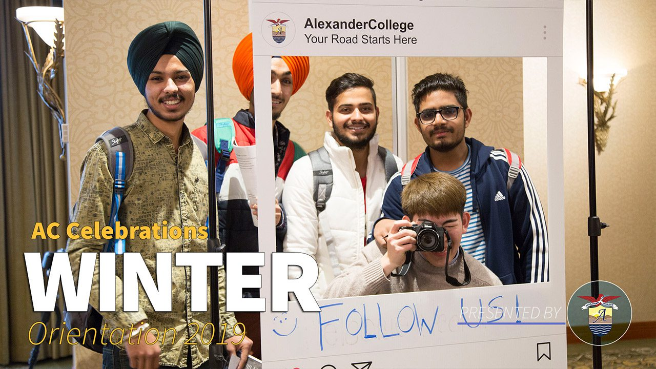 Winter Orientation, Alexander College