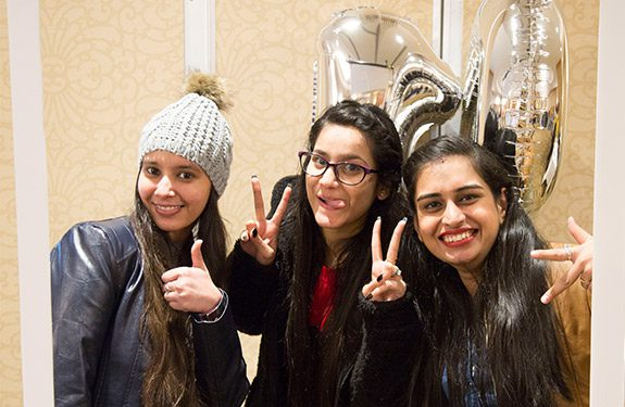 Three international students in Vancouver excited to transfer to university to continue their education after finishing university transfer program