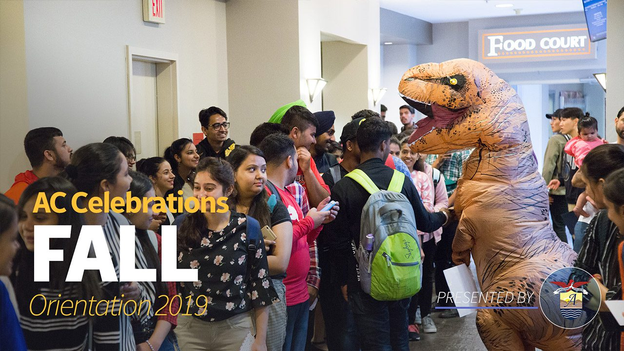 Fall Orientation at Alexander College