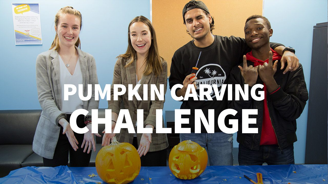 Halloween Pumpkin Carving Challeng, Alexander College