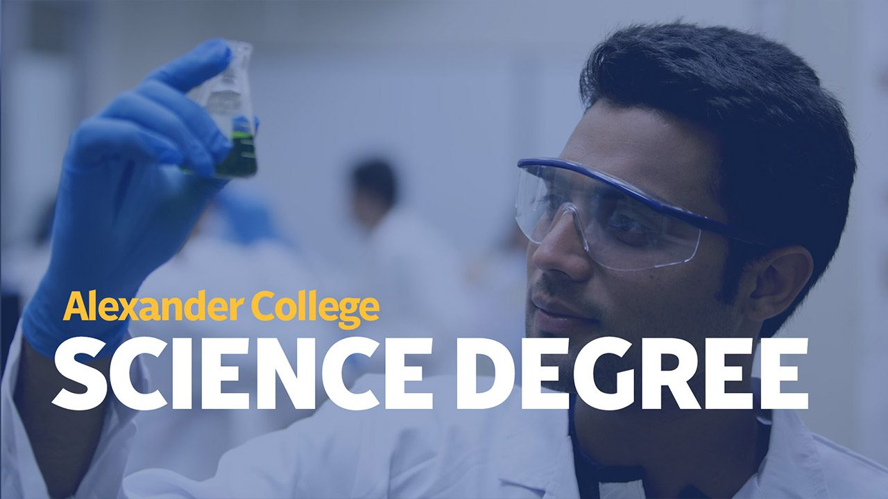 Associate of Science Degree, Alexander College