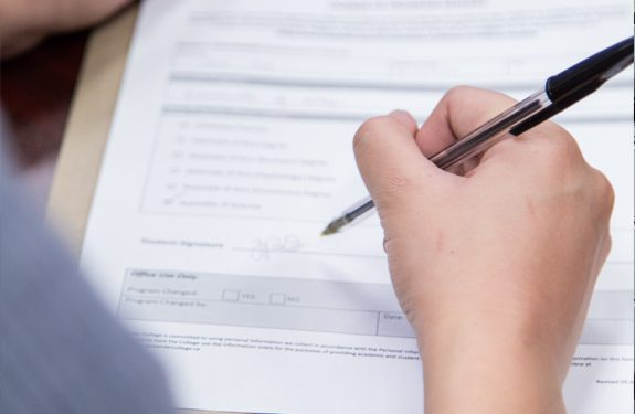 Student Registering for Courses